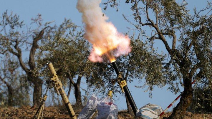 Tensiuni în Afrin. Forţe siriene proguvernamentale au pătruns în regiune şi au fost atacate de armata turcă