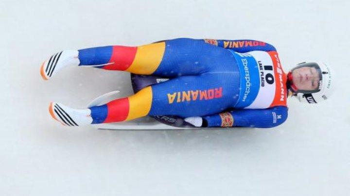 Performanţă importantă pentru România! A obţinut locul 7 la proba de sanie la Jocurilor Olimpice de iarnă