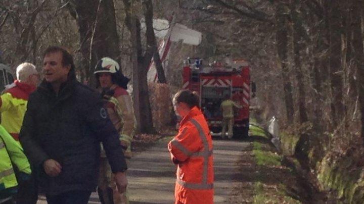 Cel puţin doi morţi după ce un avion privat s-a prăbuşit în estul Belgiei