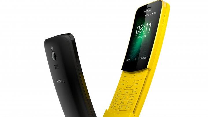 Nokia relansează modelul 8810 Banana, devenit celebru în superproducția Matrix