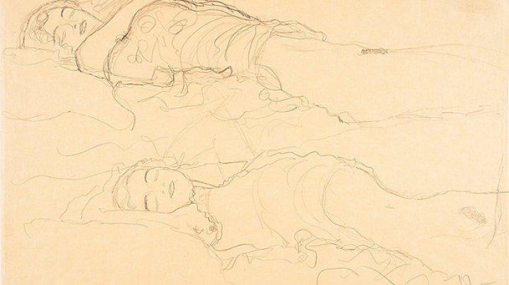 Un desen al maestrului austriac Gustav Klimt, furat în urmă cu mai multe decenii, descoperit în Austria