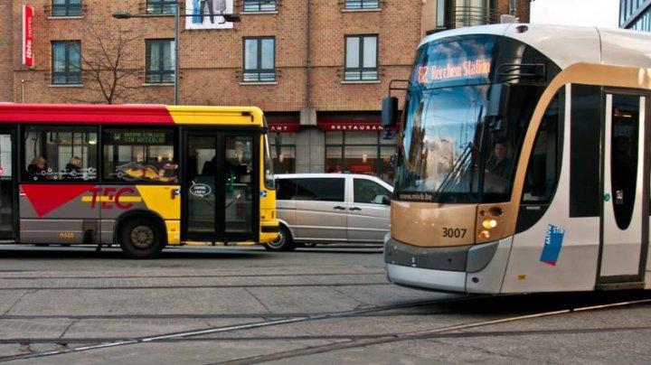Transport în comun gratuit la Bruxelles în zilele în care nivelul de poluanți este ridicat