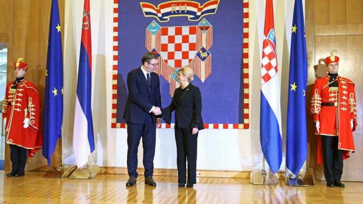 Croaţia şi Serbia vor intensifica eforturile pentru îmbunătăţirea relaţiilor bilaterale