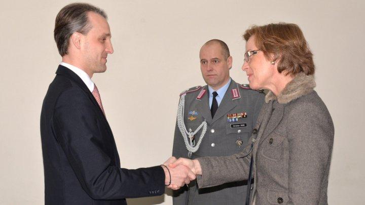 Colaborarea militară moldo-germană discutată la Ministerul Apărării