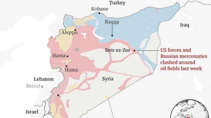 Cel puţin 15 ruşi au murit în urma unei explozii produse la un depozit de arme din Siria
