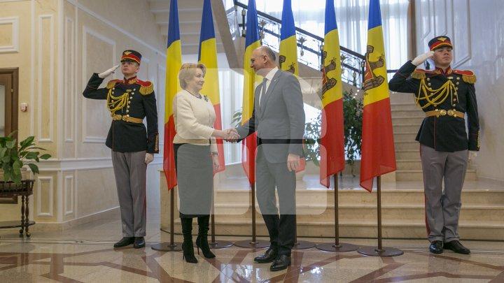 Pavel Filip: România rămâne a fi cel mai consecvent susținător al Republicii Moldova