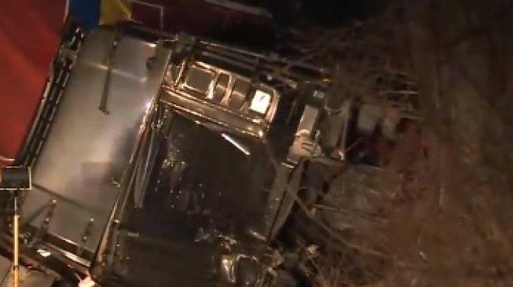 Accident grav în Buzău: Un jandarm a murit (VIDEO)