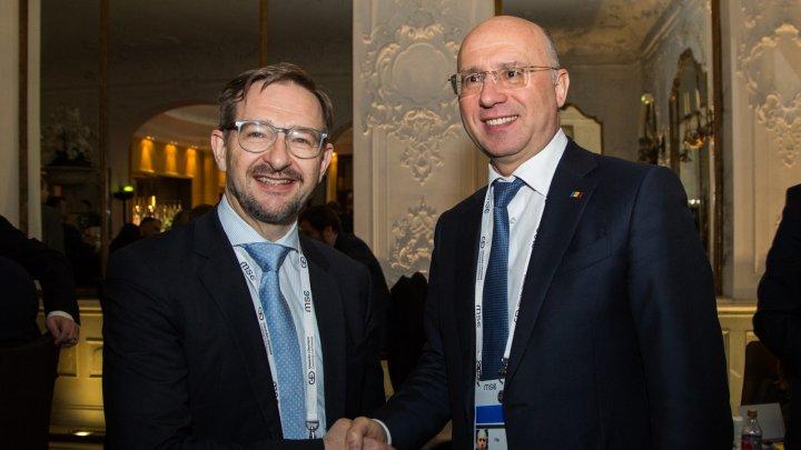 Soluționarea problemei transnistrene discutată de către premierul Pavel Filip și Secretarul General al OSCE