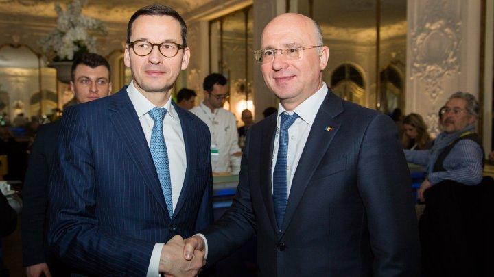 Moldova și Polonia pledează pentru intensificarea relațiilor bilaterale