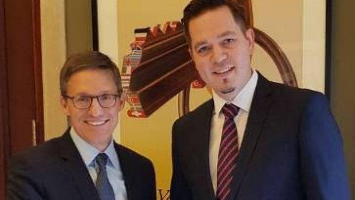 Ministrul de externe, Tudor Ulianovschi a avut o întâlnire cu conducerea German Marshall Fund