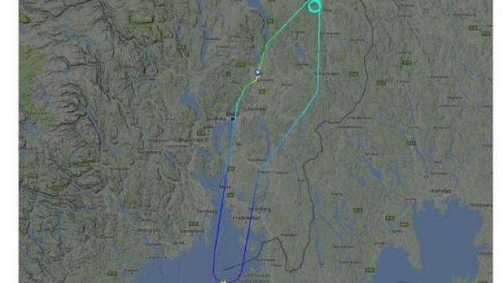 Un WC înfundat a determinat un avion norvegian să se întoarcă din drum