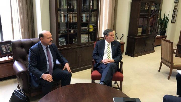Valeriu Ghilețchi, în Senatul american: SUA trebuie să se implice mai activ în dezvoltarea regiunii în care trăim