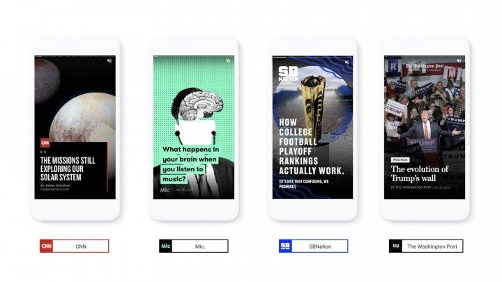 """Google se inspiră de la Snapchat şi introduce funcţia """"Stories"""""""