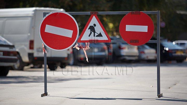 ATENŢIE! Restricții de circulație în Capitală. STRĂZILE VIZATE