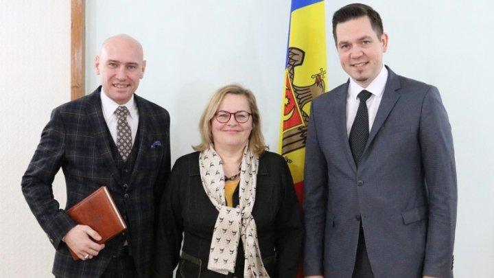 Întrevederea Ministrului Tudor Ulianovschi cu Ambasadorul Austriei, Christine Freilinger