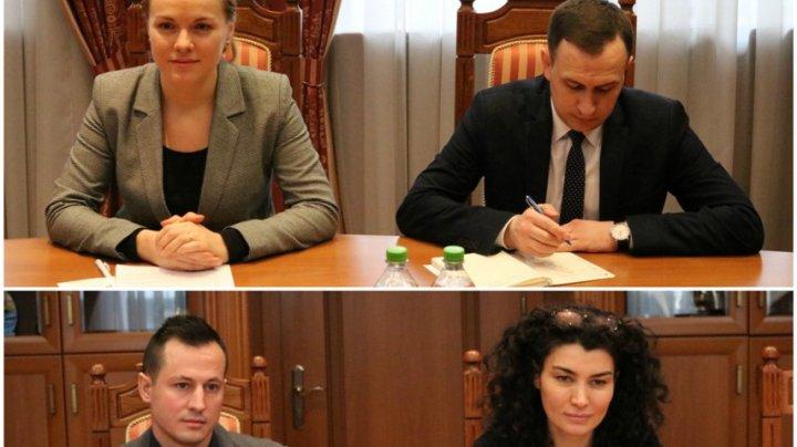 Secretarul de Stat Tatiana Molcean a primit-o astăzi pe Rita Columbia, Reprezentant al Fondului Naţiunilor Unite pentru Populaţie în Republica Moldova