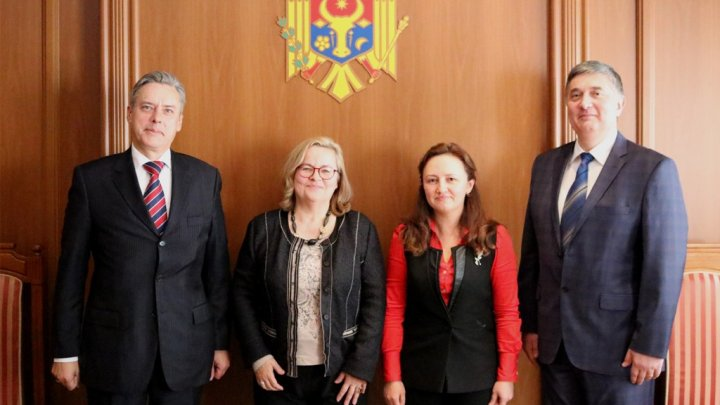 Întrevederea Secretarului de Stat Carolina Perebinos cu Ambasadorul Austriei Christine Freilinger