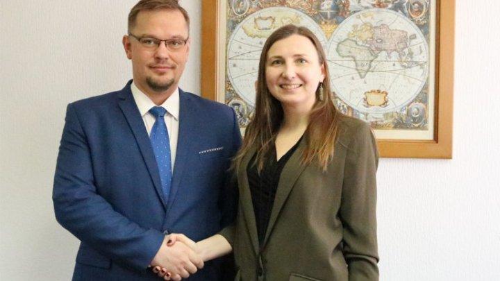 Secretarului de Stat Daniela Morari a avut o întrevedere cu Ambasadorul Republicii Polonia, Bartłomiej Zdaniuk