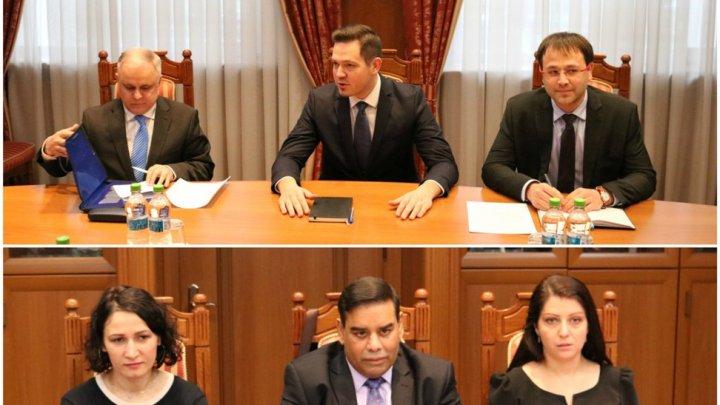 Ministrul Tudor Ulianovschi a avut o întrevedere cu reprezentanţii Forumului European pentru Democraţie şi Solidaritate