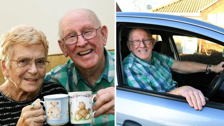 GEST IMPRESIONANT. Un bătrân și-a luat permisul de conducere la 79 de ani pentru a-și duce soția la spital