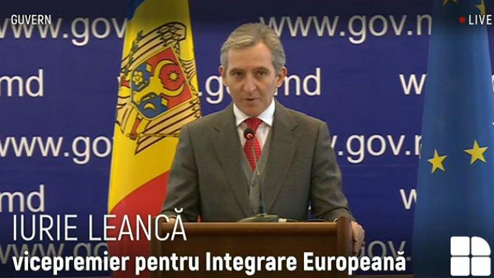 Iurie Leancă: UE sprijină şi pledează pentru accelerarea reformelor în Republica Moldova