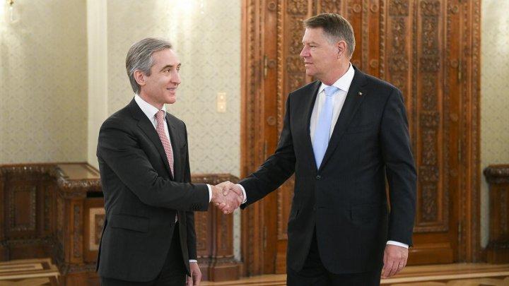 Agenda europeană a Moldovei rămâne prioritară pentru România. Iurie Leancă a avut o întrevedere cu Klaus Iohannis