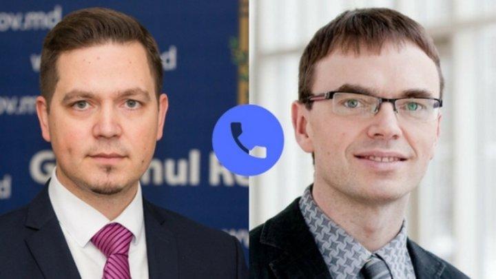 Ministrul Tudor Ulianovschi a avut o convorbire telefonică cu omologul său eston Sven Mikser