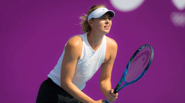 Maria Şarapova şi Madison Keys s-au retras la turneul de tenis de la Dubai