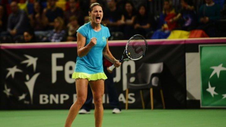 Monica Niculescu a eliminat-o pe rusoaica Maria Sharapova, în primul tur de la turneul de tenis Qatar Open