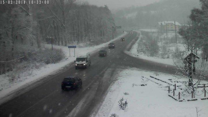 Moldova se va afla sub COD GALBEN de NINSORI. Cum se circulă la această oră pe drumurile din țară (FOTO)
