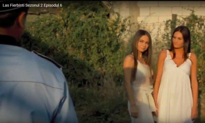 SENZAȚIONAL! Singurele imagini cu Anastasia Cecati, cântăreața ucisă de soț, în serialul LAS FIERBINȚI! Lângă cine a apărut frumoasa moldoveancă, în rol de nimfa! (FOTO)
