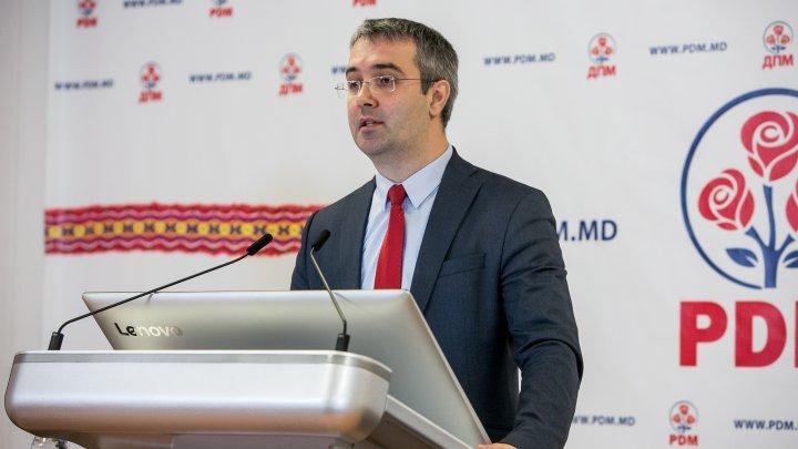 Sergiu Sîrbu: Nu cred în sinceritatea Maiei Sandu, care a spus că nu poate să se așeze la masa de negocieri cu PDM