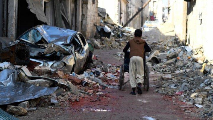 Livrarea de ajutoare umanitare prevăzută astăzi în Siria a fost amânată