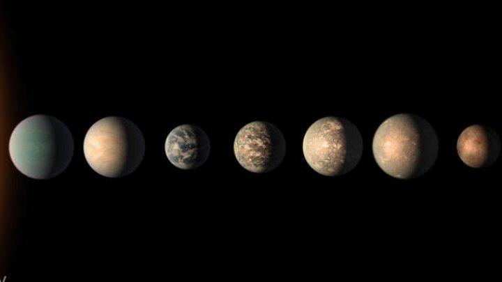 Detalii fascinante au ieşit la iveală! Trappist-1 este sistemul solar cu cele mai mari şanse pentru a susţine viaţa