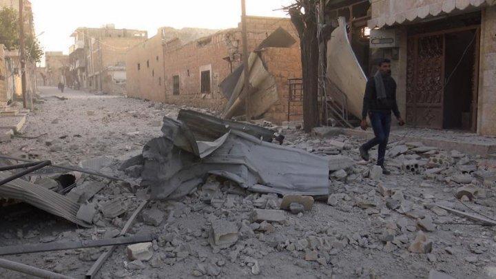 230 de civili au murit în ultima săptămână în urma raidurilor aeriene lansate de Siria şi Rusia