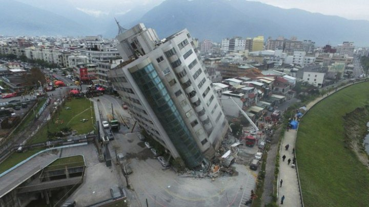Un nou seism de mare intensitate în Taiwan