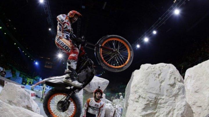 În oraşul Koln s-a disputat un concurs de motociclism extrem