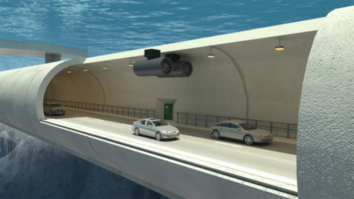 Ce țări va lega cel mai lung tunel subacvatic din lume, care va fi construit în Europa (VIDEO)