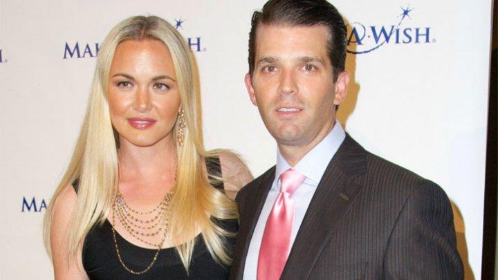 Soţia lui Trump Jr. a fost internată la spital, după ce a găsit în casă un plic suspect