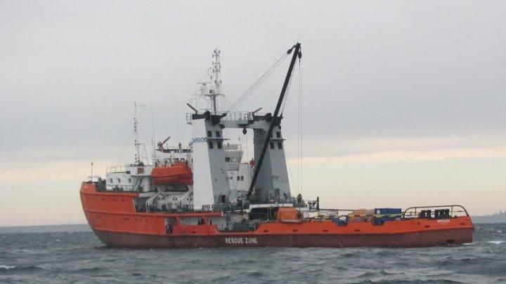 MAREA NEAGRĂ: O navă sub pavilion moldovenesc are probleme tehnice. ȘAPTE marinari, în pericol