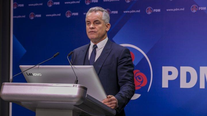 Vlad Plahotniuc, despre rotorica falsă a opoziţiei: Cum să vorbești despre un stat capturat, dacă opoziția de stânga conduce Președinția, iar opoziția de dreapta Primăria Chişinău