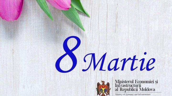 Ziua Internațională a Femeii: Mesaj de felicitare al ministrului Economiei și Infrastructurii, Chiril Gaburici