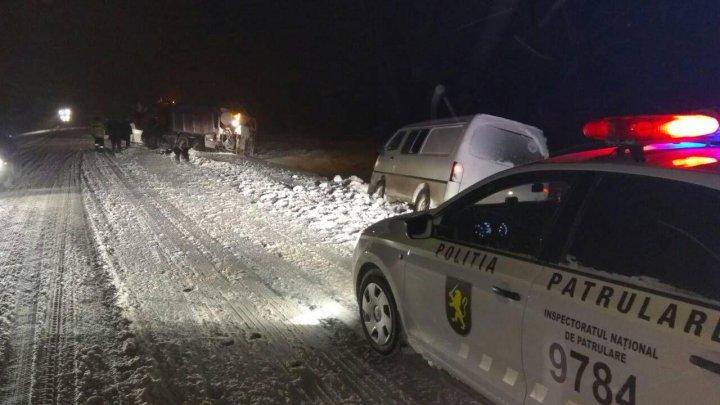 POTOP ALB pe drumurile din ţară. Patru victime, în urma unui GRAV ACCIDENT în apropiere de Ştefan Vodă