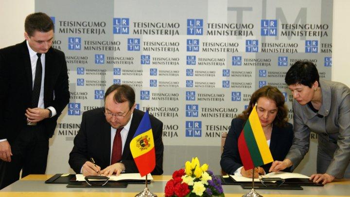 O nouă etapă de cooperare între Moldova şi Lituania. Acestea îşi intensifică relaţiile în domeniul justiţiei