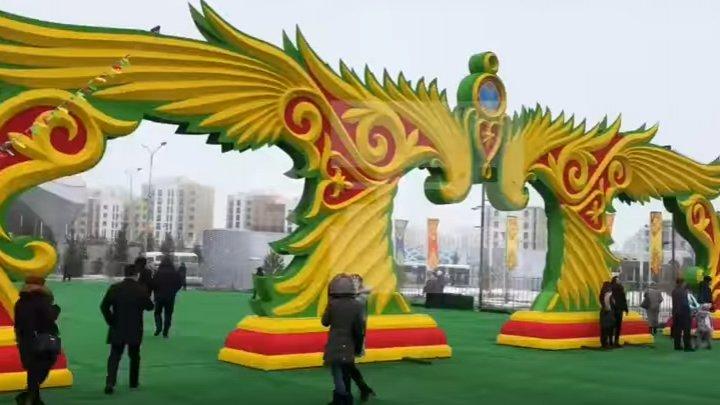 Kazahstan a sărbătorit Anul Nou persan Nowruz şi venirea primăverii (VIDEO)