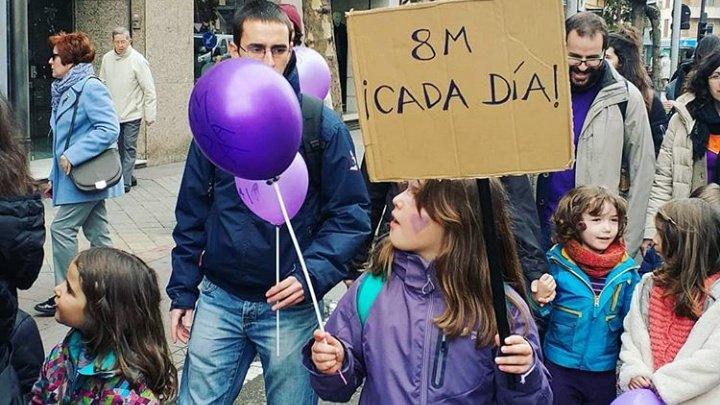 Greve, manifestaţii, jogging şi echipaje aeriene. Cum a fost sărbătorită Ziua Internaţională a Femeii în toată lumea