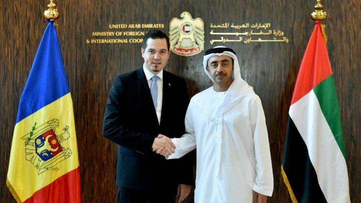 Ministrul de Externe al EAU: Deschiderea ambasadei Moldovei la Abu Dhabi va contribui la dezvoltarea relaţiilor moldo-emiriene
