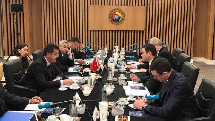 Ministrul Economiei și Infrastructurii, Chiril Gaburici, a avut o întrevedere cu omologul său din Turcia