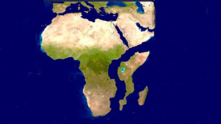 ALARMANT! Africa se rupe în două. Se schimbă harta lumii (VIDEO)