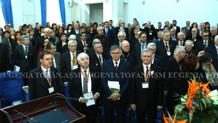 Academia de Ştiinte a Moldovei şi Academia Română au celebrat Centenarul Unirii Basarabiei cu România